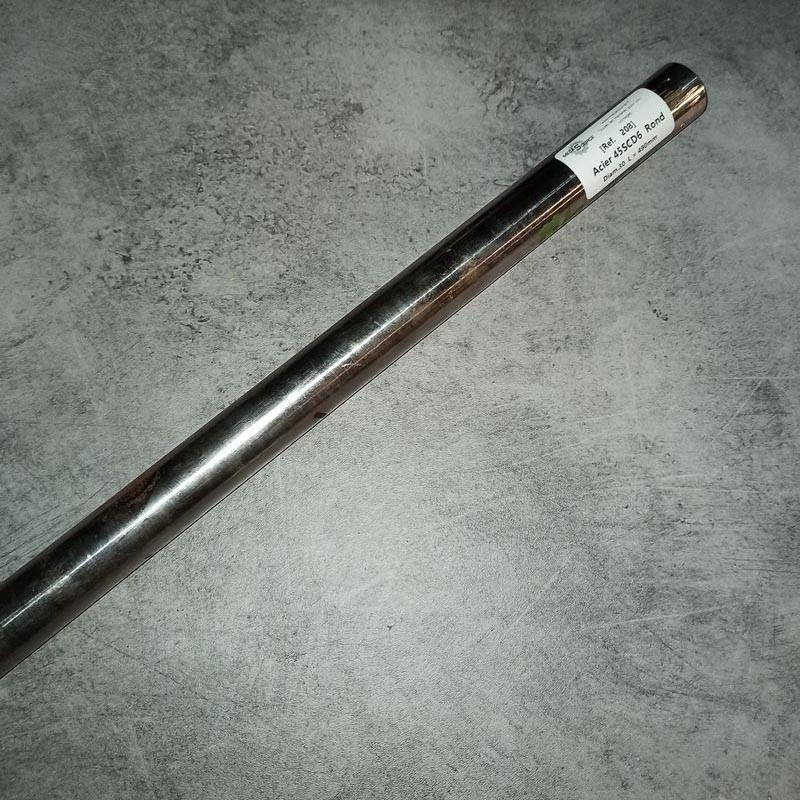 Acier 45SCD6 D.30 L.490mm