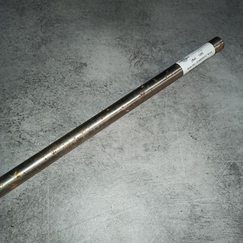 Acier D2 / Z160CDV12 D.20 L.780mm
