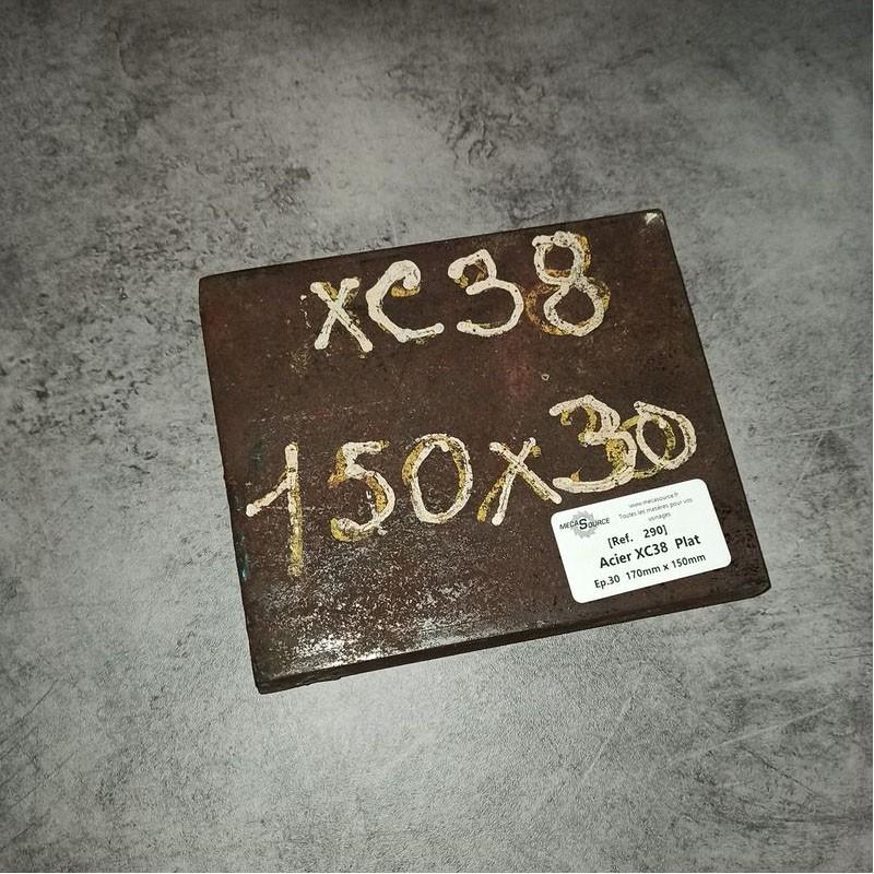 Acier XC38 Ep.30 170 x 150mm