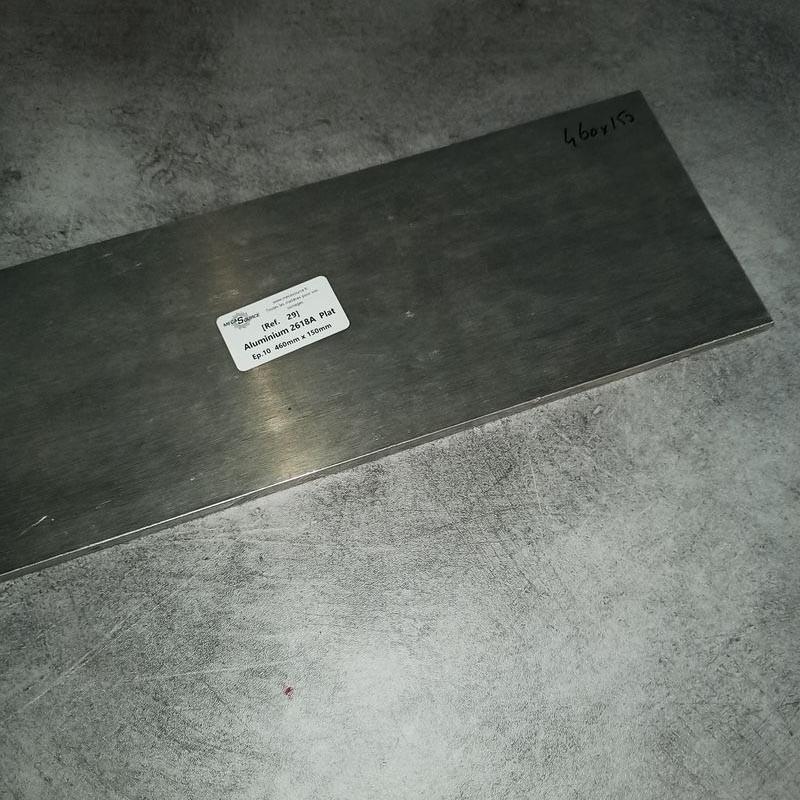 Aluminium 2618A Ep.10 460 x 150mm