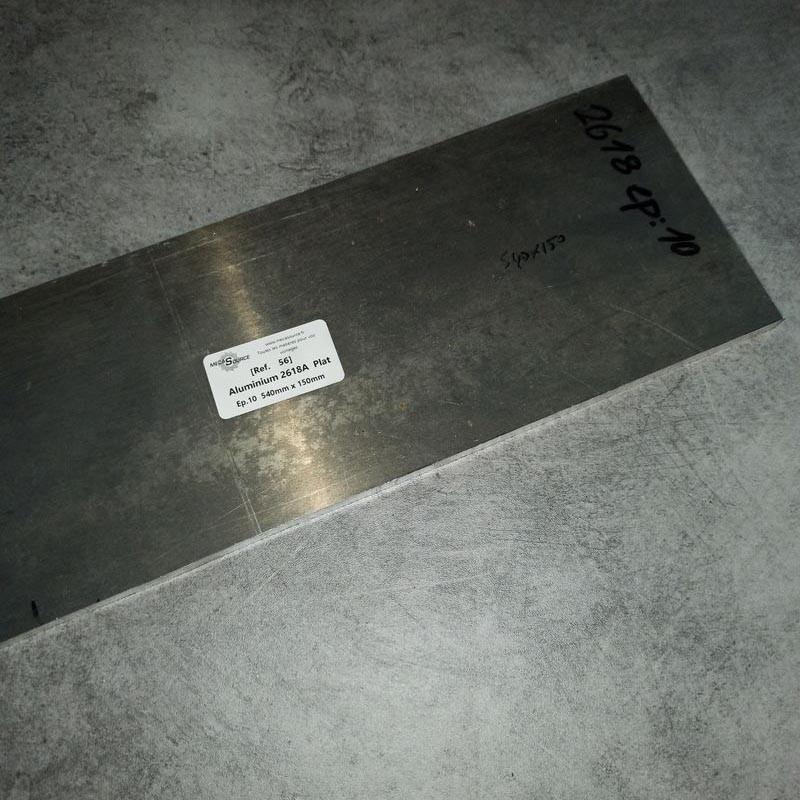 Aluminium 2618A Ep.10 540 x 150mm