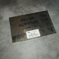 Aluminium 2618A T851 Ep.15 200 x 130mm