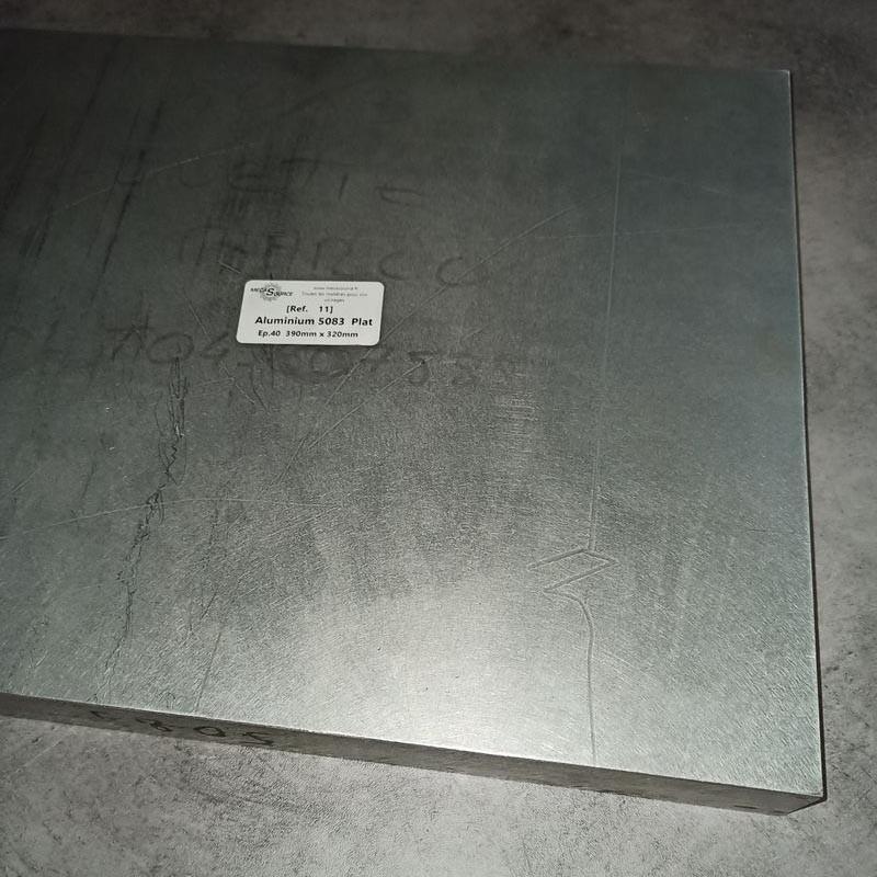 Aluminium 5083 Ep.40 390 x 320mm
