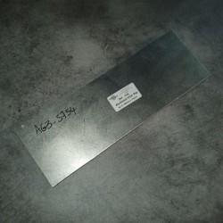 Aluminium 5754 Ep.15 340 x 110mm