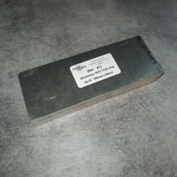 Aluminium 7075 T7351 Ep.25 160 x 60mm