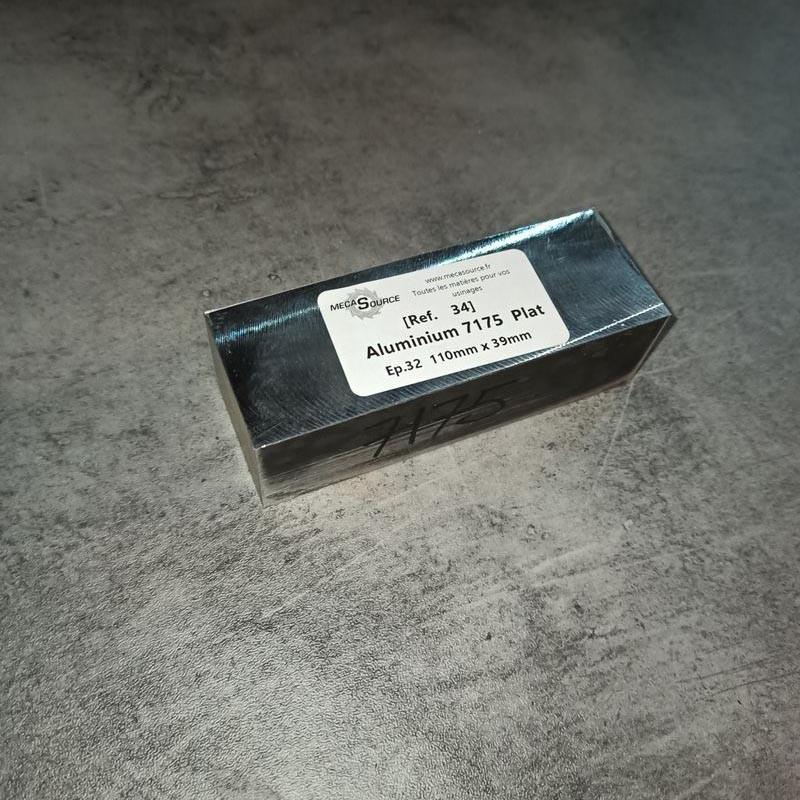 Aluminium 7175 Ep.32 110 x 39mm