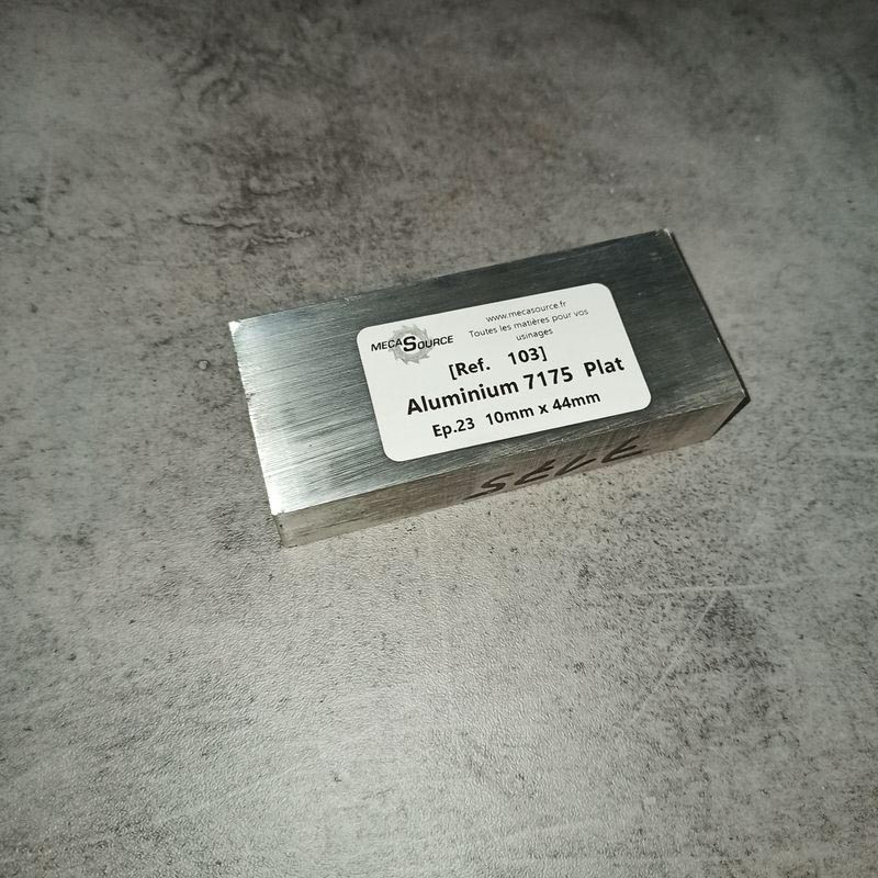 Aluminium 7175 Ep.23 10 x 44mm