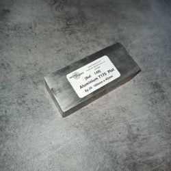Aluminium 7175 Ep.30 100 x 45mm