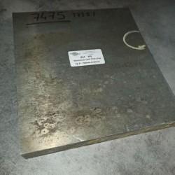 Aluminium 7475 T7351 Ep.31 250 x 220mm