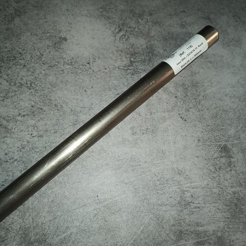 Inox 304L / Z3CN18.10 D.24 L.500mm