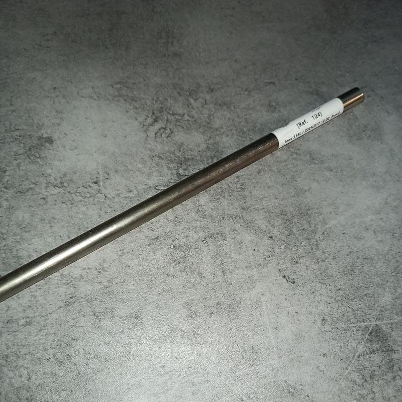 Inox 316L / Z2CND17.12.02 D.12 L.960mm