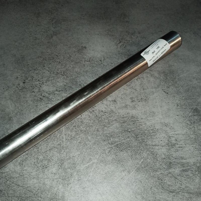 Inox 316L / Z2CND17.12.02 D.35 L.830mm