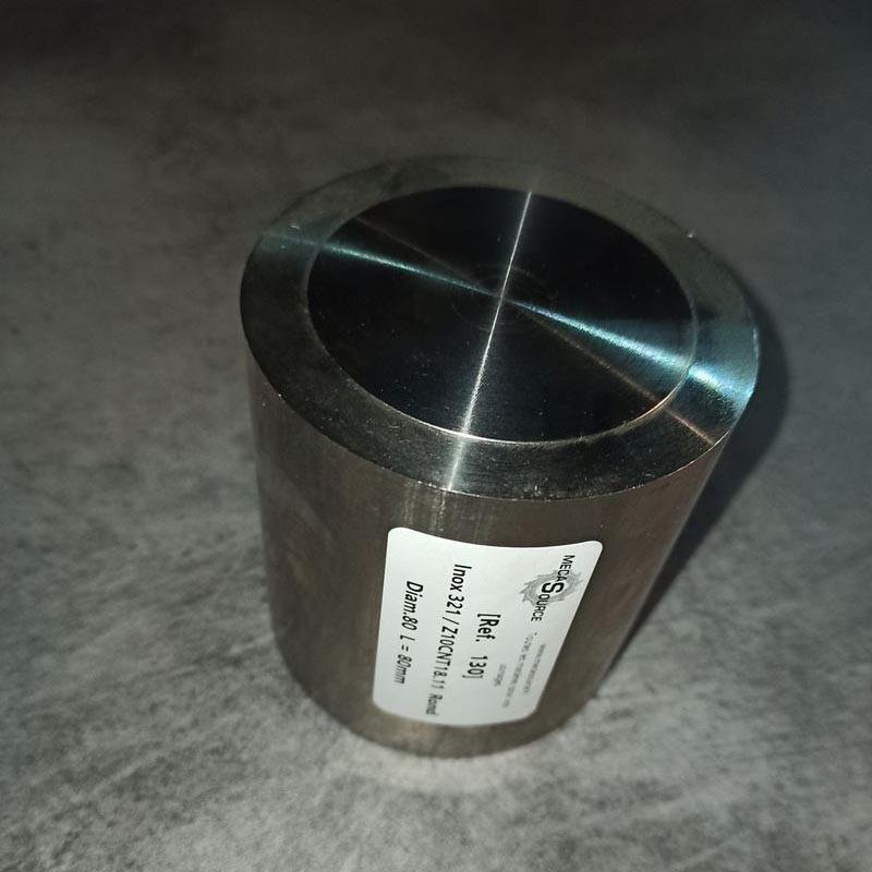 Inox 321 / Z10CNT18.11 D.80 L.80mm