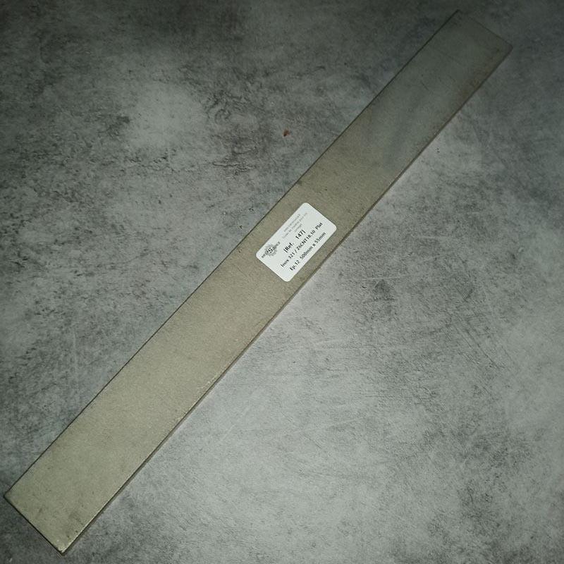 Inox 321 / Z6CNT18.10 Ep.12 500 x 55mm